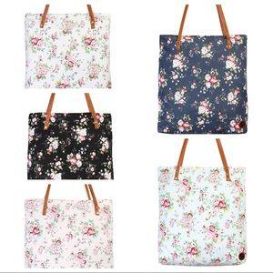 Handbags - Large floral totes, floral purses large